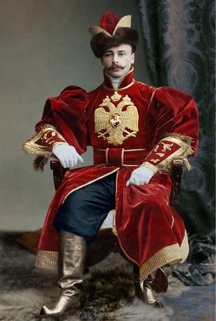 Корнет лейб-гвардии конного полка Колюбакин А.А.