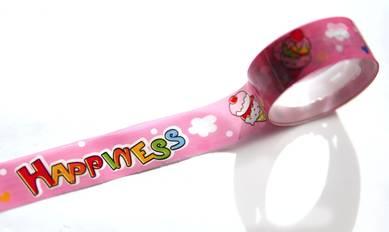 Скотч «Счастье на розовом»