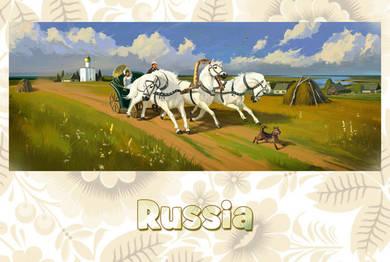 Россия. Лето