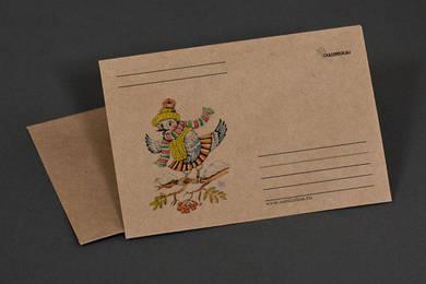 Крафт-конверт «Сорока»