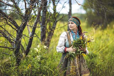 Русская целительница